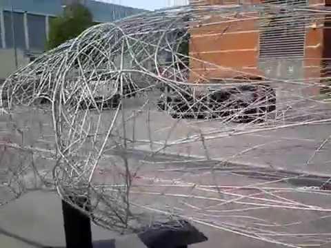 Lamborghini FEAL scultura inox