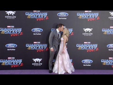 "Chris Pratt and Anna Faris ""Guardians of the Galaxy Vol 2"" World Premiere"