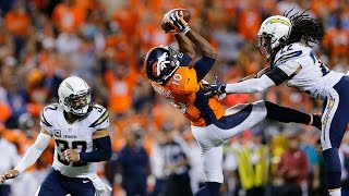 Emmanuel Sanders shows how to