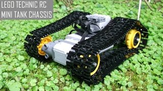 How to Make a Lego Technic RC Mini Tank Chassis