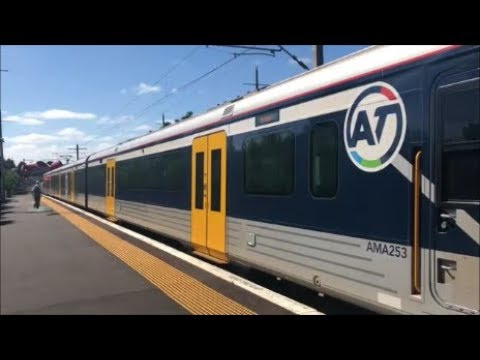 Exploring Auckland (Part 8): Train Ride To Britomart (City Of Sails) - Western Line