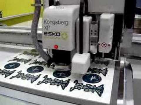 Kongsberg XP Cutting Table