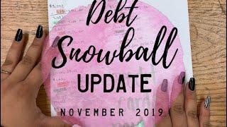 Debt Snowball Update | November 2019 | BudgetWithBri