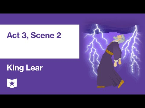 King Lear By William Shakespeare | Act 3, Scene 2