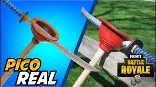 How to Make a Fortnite Peak in Real Life - Plunja Tutorial