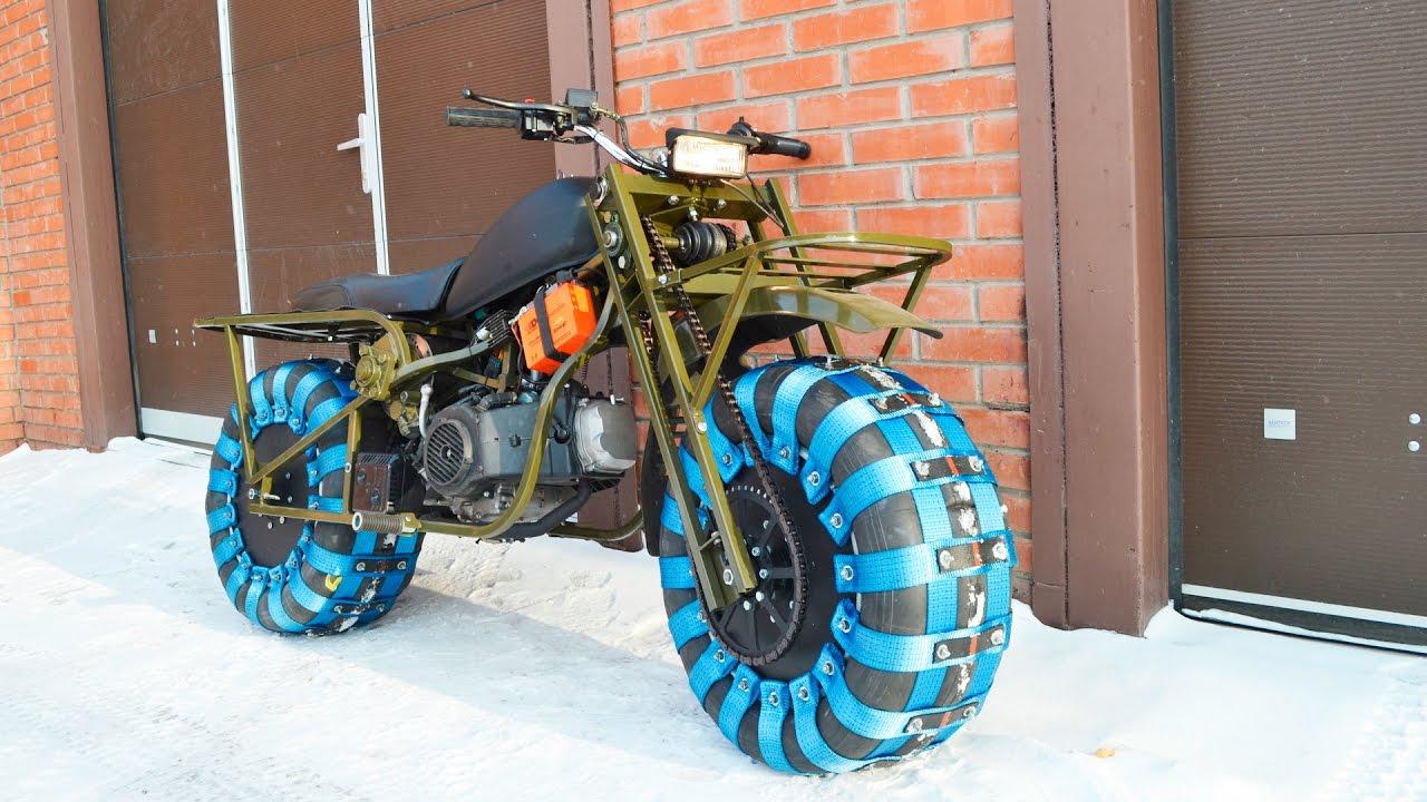 Вездеходы своими руками мотоцикл
