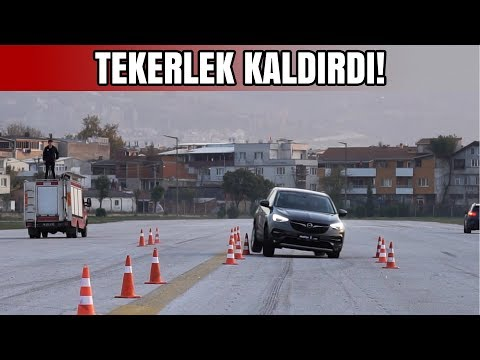 Tekerlek Kaldırdı!   Opel Grandland X Geyik Testi