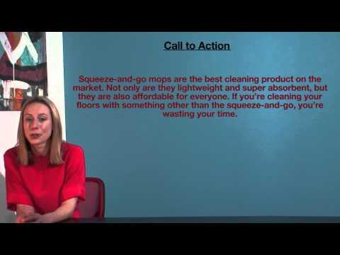 VCE English - Call to Action (Language Analysis)