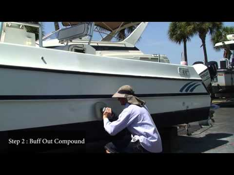 How to Compound & Polish Your Boat - Part 2 - Florida