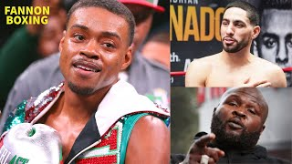"(WOW!!) ERROL SPENCE WILL LOSE TO DANNY GARCIA SAYS JAMES TONEY, ""SPENCE DON'T HAVE THE EXPERIENCE!"""
