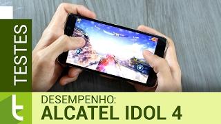Desempenho do Alcatel Idol 4 | Teste de velocidade oficial do TudoCelular