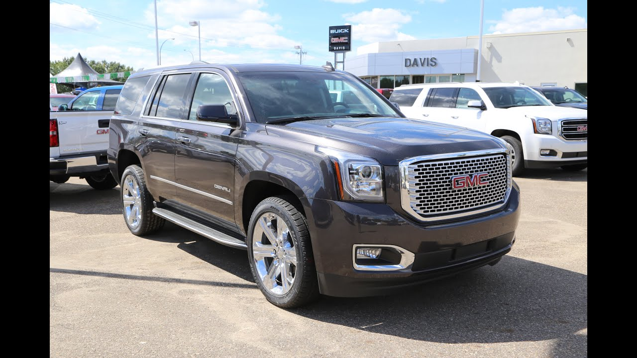 pre owned 2016 gmc yukon denali for sale in medicine hat ab youtube. Black Bedroom Furniture Sets. Home Design Ideas