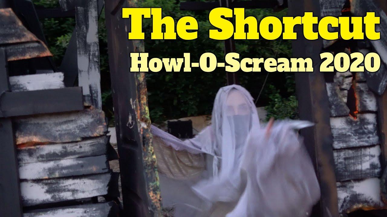 The Shortcut Scare Zone at Howl O Scream 2020 Busch Gardens Tampa