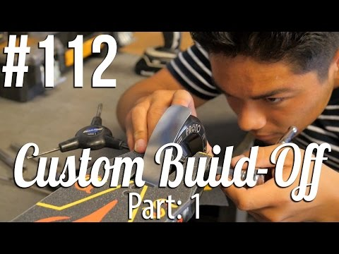 Custom Build Off! - Part: 1 (ft. Ruben Rodriguez) │ The Vault Pro Scooters