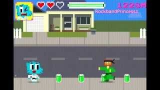 The Amazing World Of Gumball Online Games Suburban Karate Master Game
