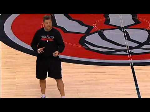 Raptors Coaches Open House 2012 - John Townsend and Eric Hughes - Part 1