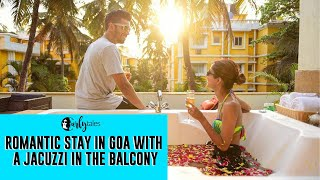 Romantic Stay In Goa With A Jacuzzi In The Balcony At Adamo, Goa   Curly Tales