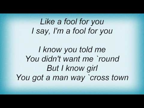 Stevie Wonder - A Fool For You Lyrics