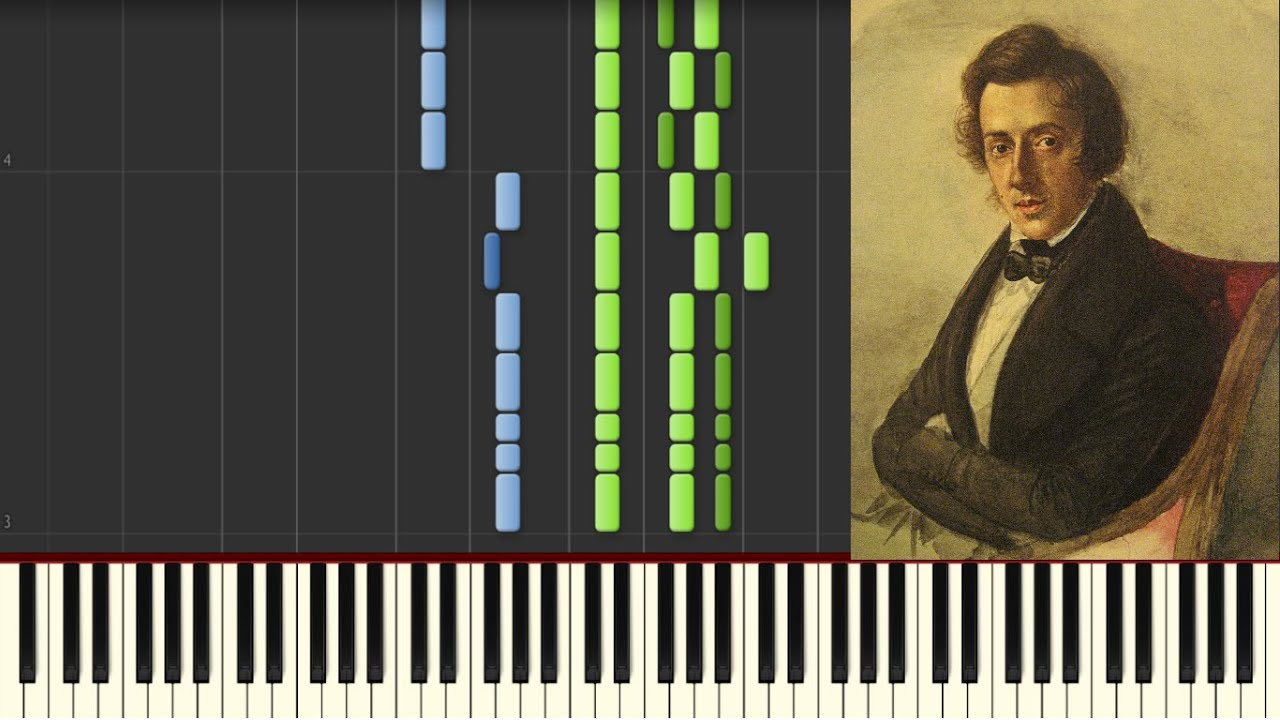 How to play piano: f. Chopin military polonaise op 40 no 1 youtube.