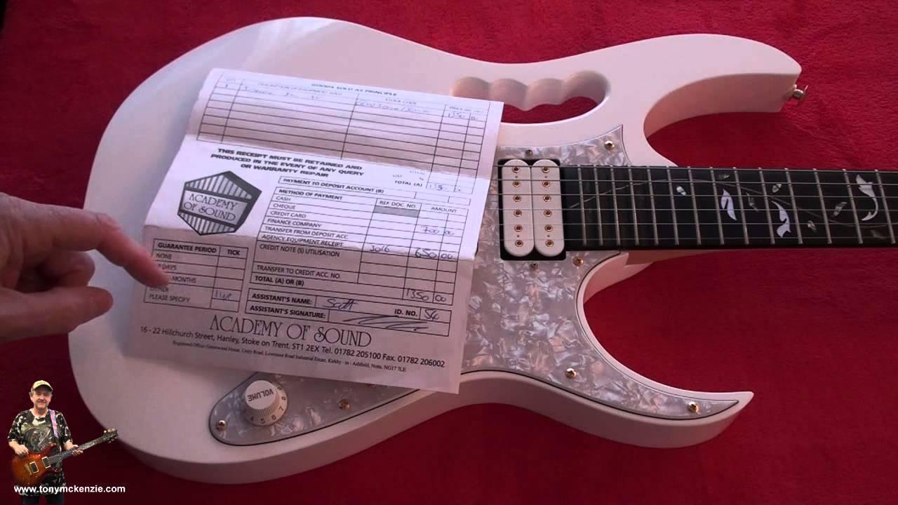 Ibanez Jem 7vwh Guitar Japanese Circa