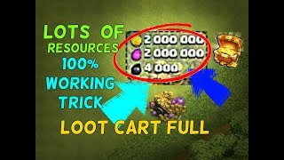 (hindi)CoC - Real Trick/Hack to Get maximum Resources in Loot Cart