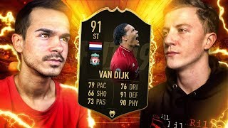 FIFA 19 : Van Dijk Stürmer SQUAD BUILDER BATTLE 😱🔥