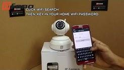 Dfaro Vipcam Pan Tilt IP Camera With Night Vision Wifi Setup (Part1)