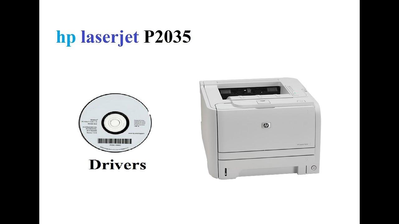 hp laserjet p2035 driver software free download