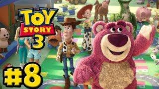 Toy Story 3 The Video-Game - Part 8 - The Junkyard (HD Gameplay Walkthrough)