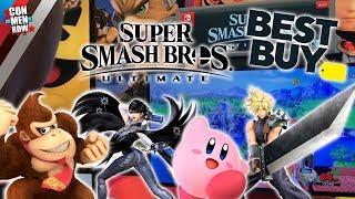 SSBU Chicago Tour: Donkey Kong VS. Bayonetta VS. Kirby VS. Cloud
