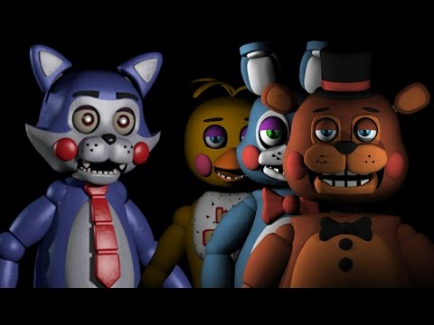 CANDY PLAYS: Night Shift at Freddy's Remastered || THE TOY ANIMATRONICS RETURN!