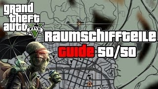 GTA 5 100% Guide - Alle Alien Raumschiffteile Map Standorte GTAV Grand Theft Auto German Tutorial