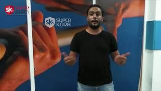 الدكش يكشف ما فعله مشجع مصري محظوظ بعد حصوله على تيشيرت رياض محرز