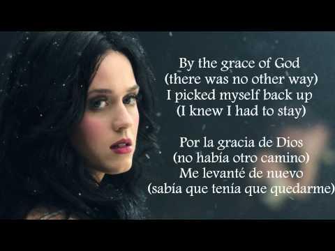 Katy Perry - By The Grace of God (Lyrics Letra) (Subtitulada Español) (Official)