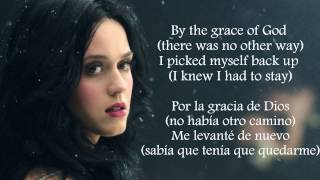 Katy Perry - By The Grace of God (Lyrics Letra) (Subtitulada Español) (Official)