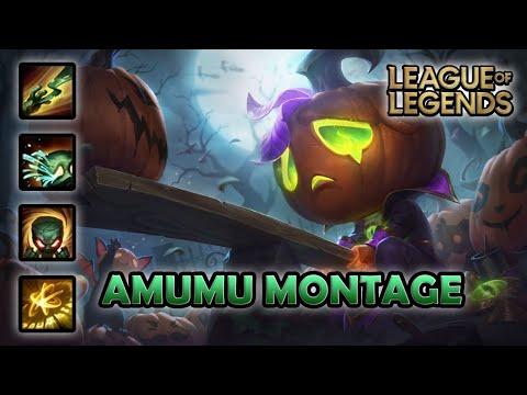 AMUMU MONTAGE - 100 IQ   Pumpkin Prince Amumu Skin   League of Legends