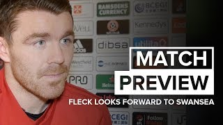 John Fleck looks forward to Swansea