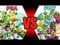 Gambar cover Team Plant PEA vs Team Plant PULT - Who Will Win? - PvZ 2 Plant vs Plant