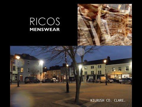 Ricos Menswear Kilrush Co. Clare