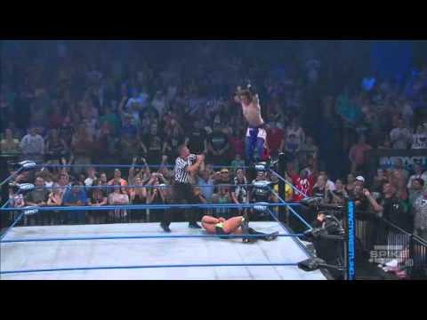 Jack Evans - 630° senton TNA impact 2011
