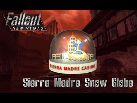 Fallout New Vegas [Dead Money] Sierra Madre Snow Globe [LOCATION]