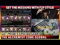 The Fullmetal Alchemist Code Pride EX - Get The Missions With F2P Style! (The Alchemist Code)