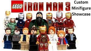 LEGO IRON MAN 3 Custom Minifig Showcase - Road to Avengers: Endgame