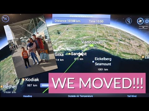 Moving To Canada! Manila To Vancouver - October 9, 2017 | The Santiago Family