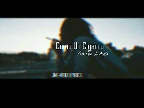 Azeel Mc - Como Un Cigarro(JME VÍDEOS LYRICS)