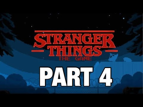 Stranger Things The Game. | Part 4. | Chapter 4 - Fire and Water. ( iOS Walkthrough )