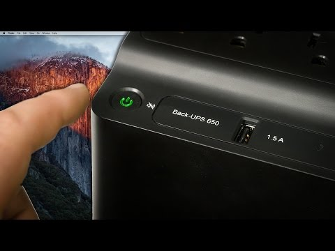 APC Back-UPS - Battery backup for your Computer and network