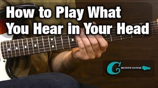 EAR TRAINING: How to Play What You Hear in Your Head.