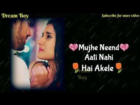 Female Voice New WhatsApp Status 😢|| Mujhe Neend Aati Nahi Hai Akele || Dream Boy