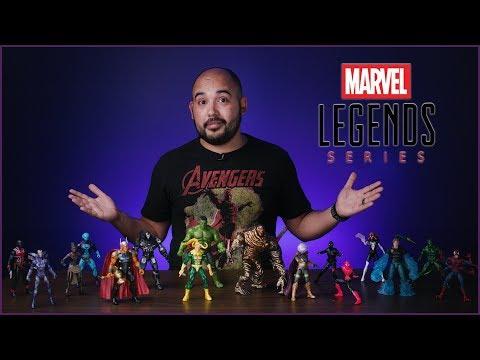 Marvel Legends Review - Molten Man BaF Wave & Avengers Endgame Wave 2